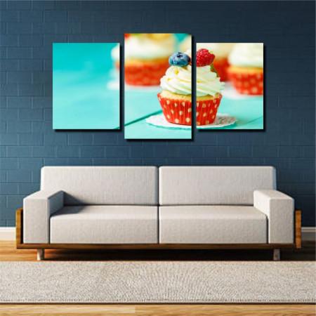 Tablou canvas pe panza food 6 - KM-CM3-FOD6