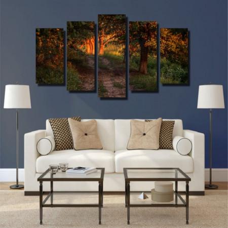 Tablou canvas pe panza landscape 17 - KM-CM5-LND17