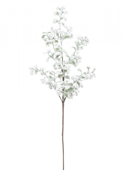 Floare artificiala alba, 51x21 cm