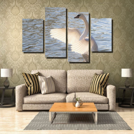 Tablou canvas pe panza animals 3 - KM-CM4-ANM3