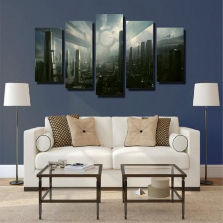 Tablou canvas pe panza hi-tech 3 - KM-CM5-TCH3