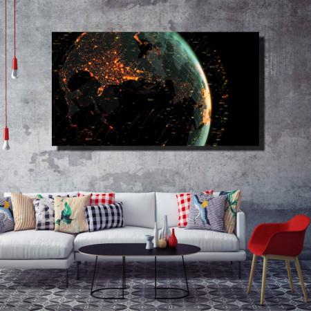 Tablou canvas pe panza space 1 - KM-CM1-SPC1