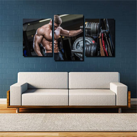 Tablou canvas pe panza sport 5 - KM-CM3-SRT5