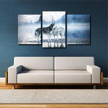 Tablou canvas pe panza animals 12 - KM-CM3-ANM12