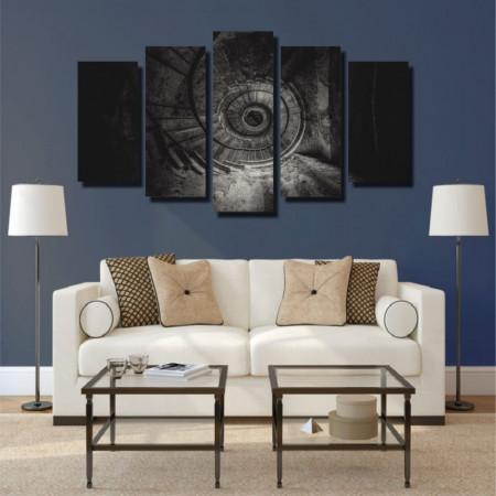 Tablou canvas pe panza interior 4 - KM-CM5-INT4