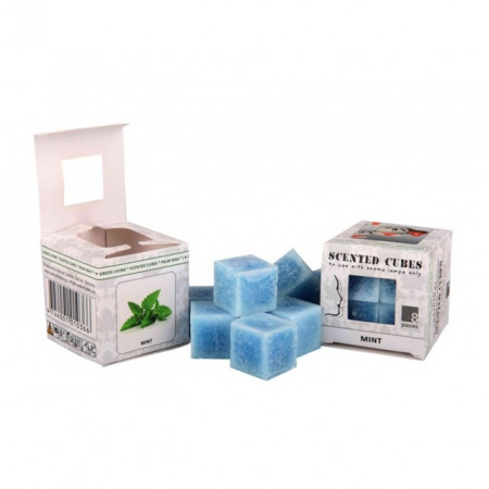 Ceara parfumata, pachet 8 cuburi, aroma Menta