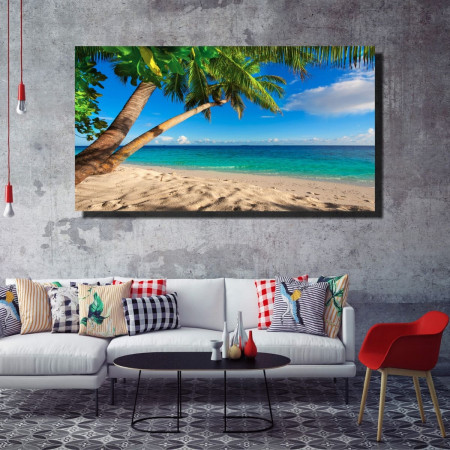 Tablou canvas pe panza beach 10 - KM-CM1-BCH10