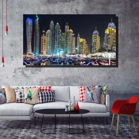 Tablou canvas pe panza city 9 - KM-CM1-CTY9