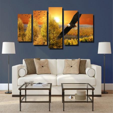Tablou canvas pe panza landscape 12 - KM-CM5-LND12