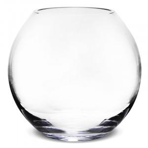 Bol de sticla transparenta, 22.5 cm