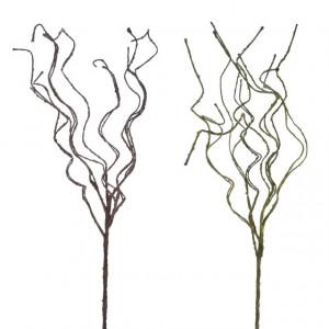 Creanga artificiala, verde/maro, 80 cm