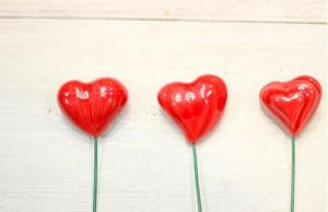 Deco ceramica Inima mica