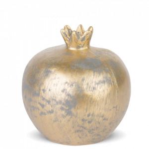 Decoratiune rodie, auriu, 8x7x7 cm