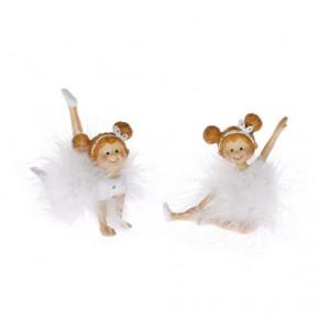 Figurina polirasina, balerina, 9 cm