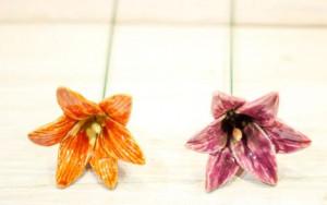 Floare ceramica Lily