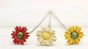 Floare ceramica Margarete mini