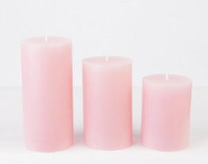Lumanare parfumata, aroma zmeura, 7,5x6 cm