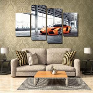 Tablou canvas pe panza car 8 - KM-CM4-CAR8