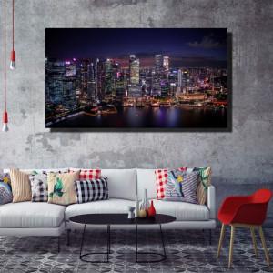 Tablou canvas pe panza city 1 - KM-CM1-CTY1