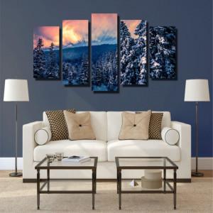 Tablou canvas pe panza landscape 23 - KM-CM5-LND23
