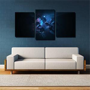 Tablou canvas pe panza space 7 - KM-CM3-SPC7
