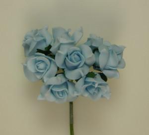 Buchet de trandafiri, aqua, spuma