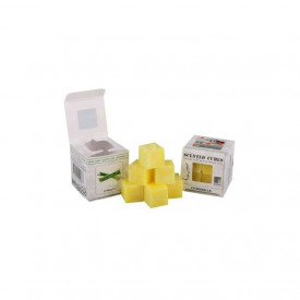 Ceara parfumata, pachet 8 cuburi, aroma Citronella