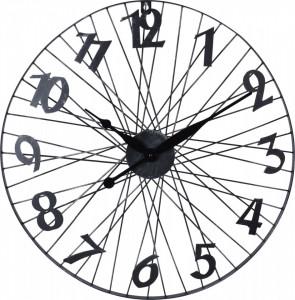 Ceas de perete, forma roata bicicleta, 60 cm