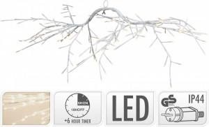 Creanga artificiala de agatat, 144 LED