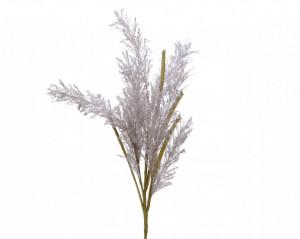 Creanga artificiala, Pampas, gri, 75 cm