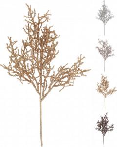 Crenguta artificiala de brad, color, 40 cm