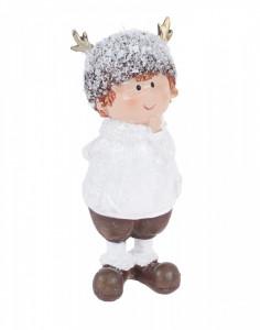 Figurina copil cu caciula, 13 cm