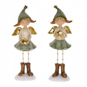 Figurina, ingeras in picioare, 19 cm