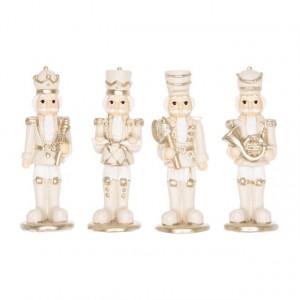 Figurina, Spargator de nuci, auriu, 9 cm