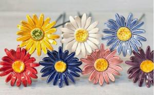 Floare ceramica Margarete medii