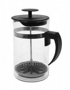 Infuzor cafea de sticla, cu capac, capacitate 1L