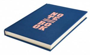 Notebook coperta albastra, 14.8 cm