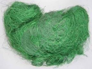 Punga sisal verde inchis, 100 gr