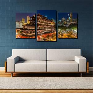 Tablou canvas pe panza city 12 - KM-CM3-CTY12