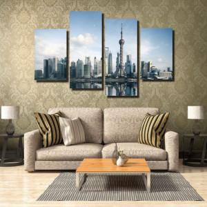 Tablou canvas pe panza city 13 - KM-CM4-CTY13