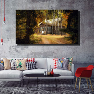 Tablou canvas pe panza landscape 15 - KM-CM1-LND15