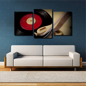 Tablou canvas pe panza music 4 - KM-CM3-MSC4