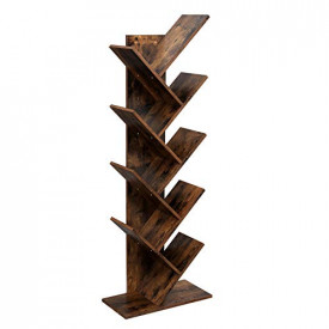 Biblioteca verticala, MDF, 141.5x50x25 cm