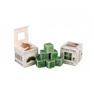 Ceara parfumata, pachet 8 cuburi, aroma Christmas Tree