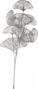 Creanga artificiala, frunze Ginko, argintiu