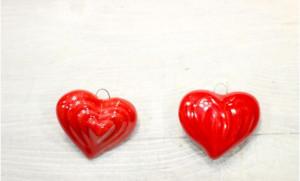 Deco ceramica Inima mare