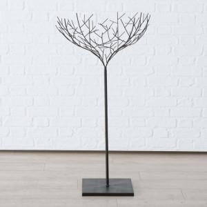 Decoratiune copac metalic, inaltime 105 cm