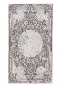 Decoratiune perete, aspect antichizat, MDF, 57.5x32x3.5 cm