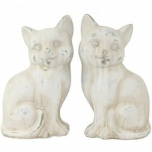 Figurina piatra pisica, 22x12x10 cm