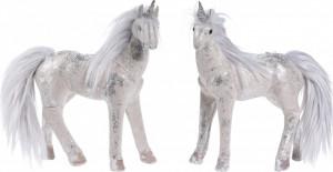 Figurina, unicorn cu sclipici, 26 cm